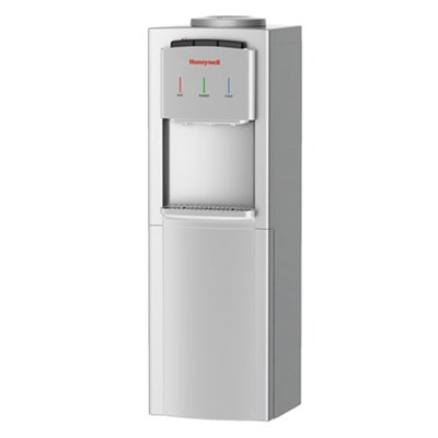 Freestanding Hot, Cold, and Room Temperature Water Cooler, Silver