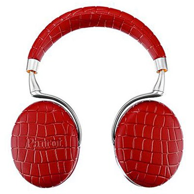 Zik 3 Wireless Bluetooth Headphones w/ Wireless Charger (Red Croc)