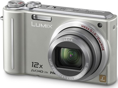 DMC-ZS3S LUMIX 10.1 MP Compact Digital Camera with 12x Super Zoom (Silver)
