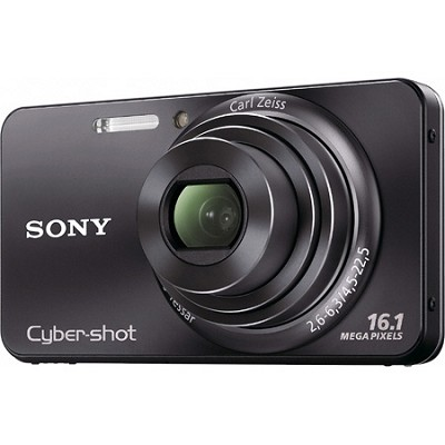 Cyber-shot DSC-W570 16MP Black Digital Camera