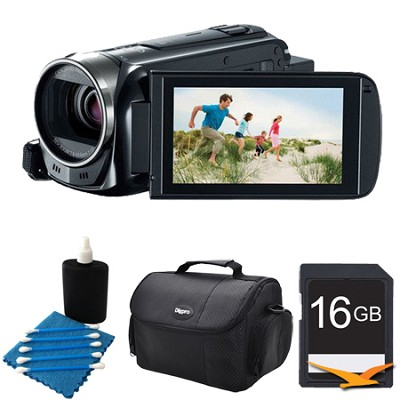 VIXIA HF R500 1080/60p HD Camcorder Black Kit