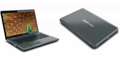 Satellite P775-S7232 17.3 Inch Platinum Notebook Intel Core i5-2410M Processor