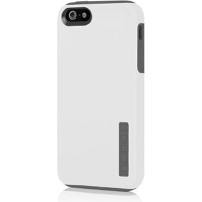 DualPro Hybrid Case for iPhone 5 - White/Gray