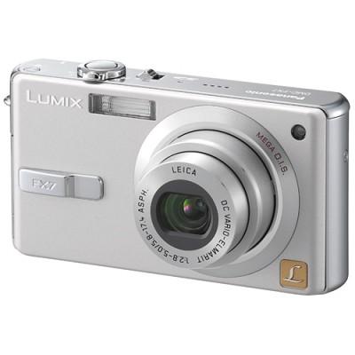 DMC-FX7 (Silver) Lumix Ultra-Compact 5 Megapixel Digital Camera w/ 2.5` LCD