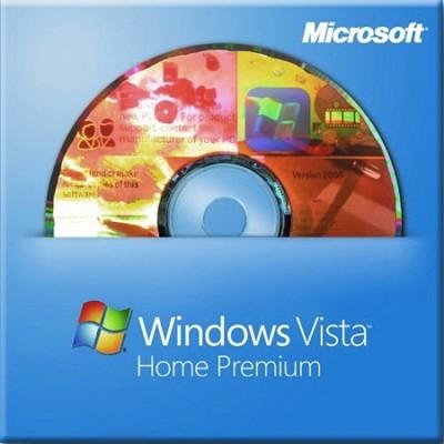 Windows Vista Home Premium 64 bit, 3 Pack (66I00825)