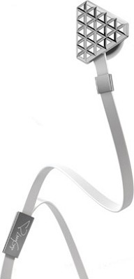 Heartbeats by Lady Gaga High Performance In-Ear Headphones - Bright Chrome