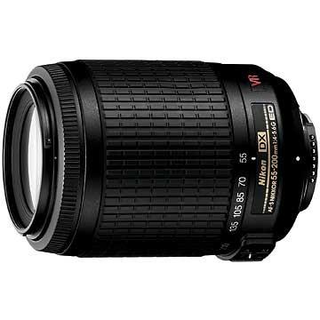 55-200mm f/4.5-5.6G ED AF-S VR DX Zoom-Nikkor - REFURBISHED