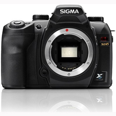 SD15 Digital SLR Camera 14MP X3 Foveon Direct Image Sensor