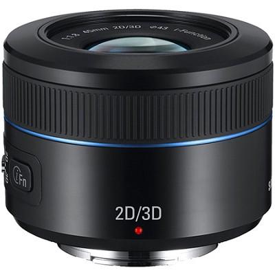 NX 45mm f/1.8 2D/3D Camera Lens - Black