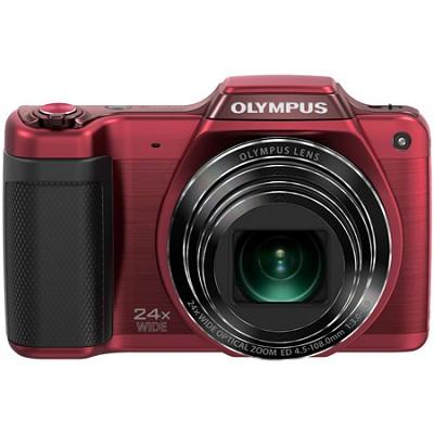 STYLUS SZ-15 16MP 24x SR Zoom 3-inch Hi-Res LCD - Red