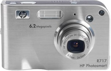 Photosmart R717 - 6.2 MP Digital Camera with HP Instant Share
