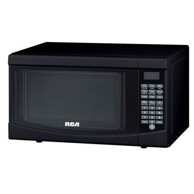 RMW733-BLACK Microwave Oven, 0.7 cu. ft., Black