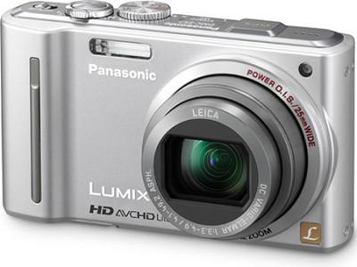DMC-ZS7S LUMIX 12.1 MP Digital Camera w/ 16x Intelligent Zoom-Silver-REFURBISHED