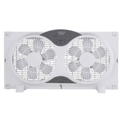 TSI-WF261-WHT Window Fan, 21.8` L - White