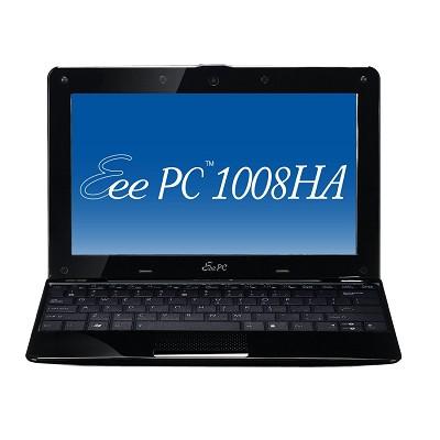 Eee PC Seashell 1008HA-MU17-BK 10.1-Inch Black Netbook - 6 Hours of Battery