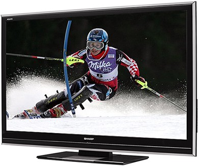 LC-46D85U - AQUOS 46` High-definition 1080p 120Hz LCD TV