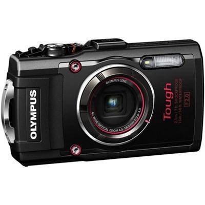 TG-4 16MP 1080p HD Waterproof Digital Camera w/ 3-Inch LCD (Black) - Refurbished