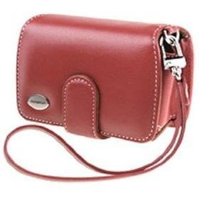 Premium Slim Leather Case (Red)