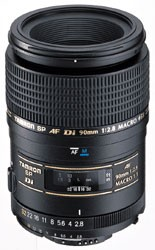 90mm F/2.8 DI SP AF Macro 1:1 Lens For Nikon - OPEN BOX
