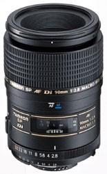 90mm F/2.8 DI SP AF Macro 1:1 Lens For Nikon - OPEN BOX