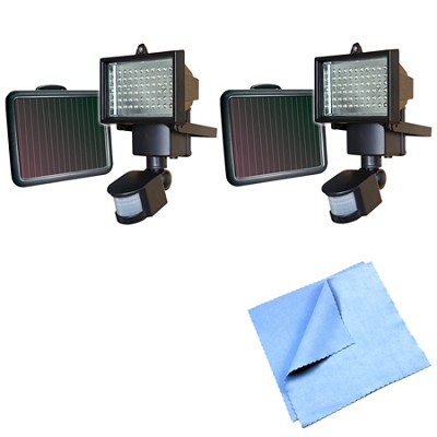 60 LED Solar Motion Light - 82156 2-Pack Bundle