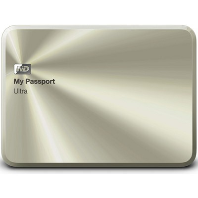 My Passport Ultra Metal Edition 1TB Gold - WDBTYH0010BCG-NESN