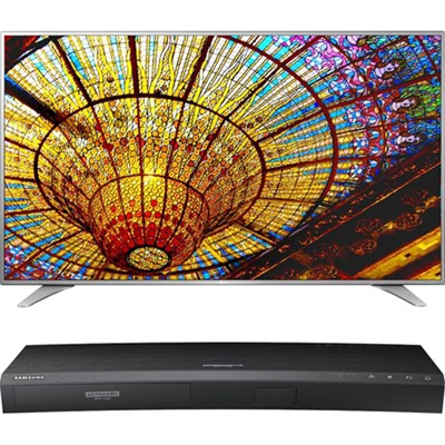 65-in UHD Smart TV w/ webOS 3.0-65UH6550+ Samsung UBDK8500 UHD Blu Ray Player