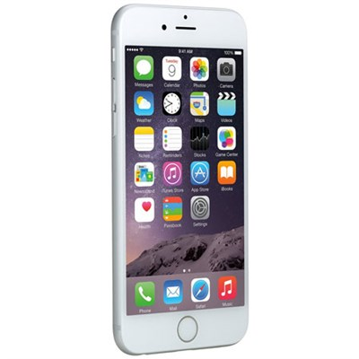 iPhone 6, Silver, 64GB, AT&T - Refurbished - MG4X2LL/A