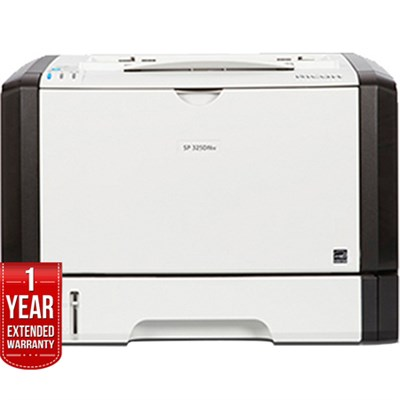 SP 325DNw Wireless Monochrome Printer with 1 Year Extended Warranty