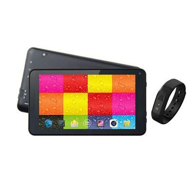 7` Tablet and Black Fitband - SC-6207FITBK