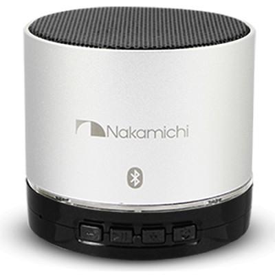BT06S Series Round Bluetooth Speaker (Silver)