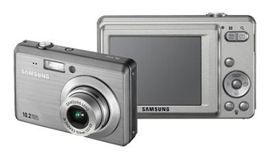 SL102 10MP 2.5` LCD Digital Camera (Silver)
