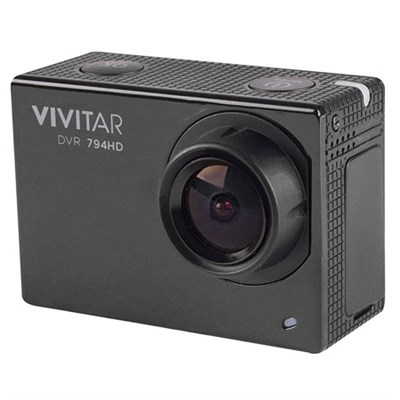 1080p HD 14 MP WiFi Waterproof Action Video Cam w/ Remote, Helmet & Bike Mounts