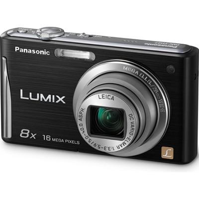 Lumix DMC-FH27 16MP 8x Zoom Black Compact Digital Camera w/ 3.0` Touchscreen
