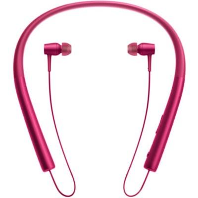 MDR-EX750 h.Ear in Wireless In-ear Bluetooth Headphones w/ NFC - Bordeaux Pink
