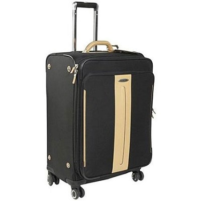 Black Label Hommage III Softside 24` Spinner Suitcase