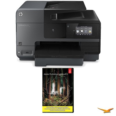 Officejet Pro 8620 e-All-in-One Wireless Color Printer w/ Photoshop Lightroom 5
