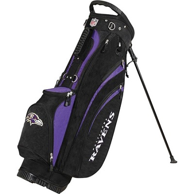 NFL Baltimore Ravens Golf Carry Bag