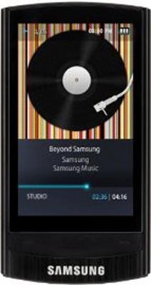 YP-R1JCB Black 8GB MP3 Player / 2.6` Touch Screen/Bluetooth/FM Tuner/Beat DJ