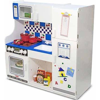 Deluxe Pretend Play Kitchen - OPEN BOX