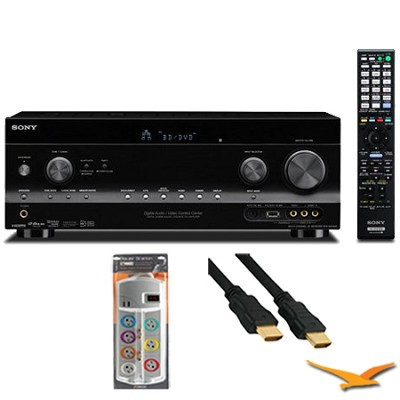 7.2 Channel WiFi Network A/V Receiver (STRDN1030) with HookUp Bundle