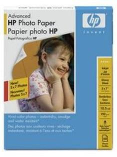 Advanced Glossy Photo Paper-60 sht/5 x 7 in (Q8690A)