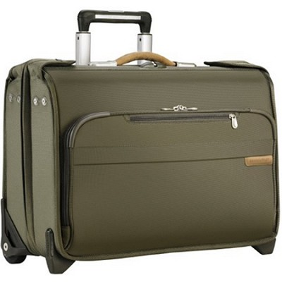 Baseline Carry-on Wheeled Garment Bag - Olive (U174-7)