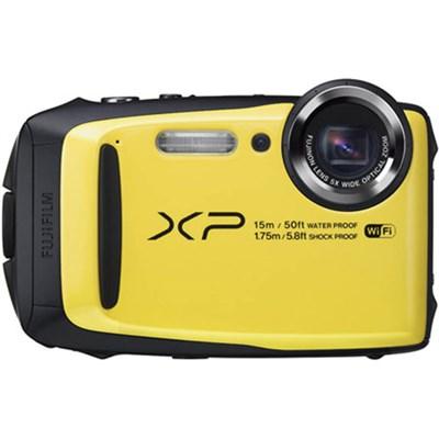 FinePix XP90 16 MP Waterproof Digital Camera w/ 3` LCD - Yellow Refurbished