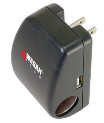 Smart Phone/PDA Travel's Adapter w/USB