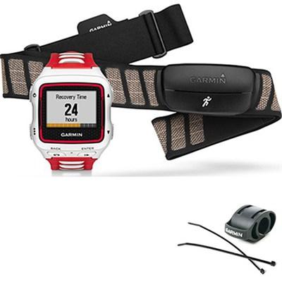 Forerunner 920XT Multisport GPS Watch w/ HRM-Run Heart Rate Monitor - White/Red