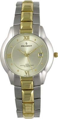 128CH Mens Classic Two Tone Dress Watch