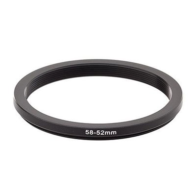 58mm to 52mm Step Down Ring
