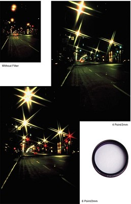 49mm 8pt 2mm Grid Star Filter