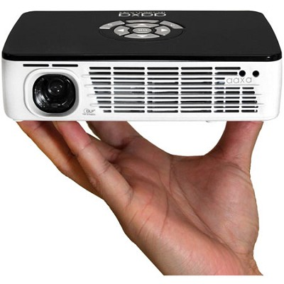P300 Pico Projector w/  300 Lumens LED, 720p HD - Refurbished